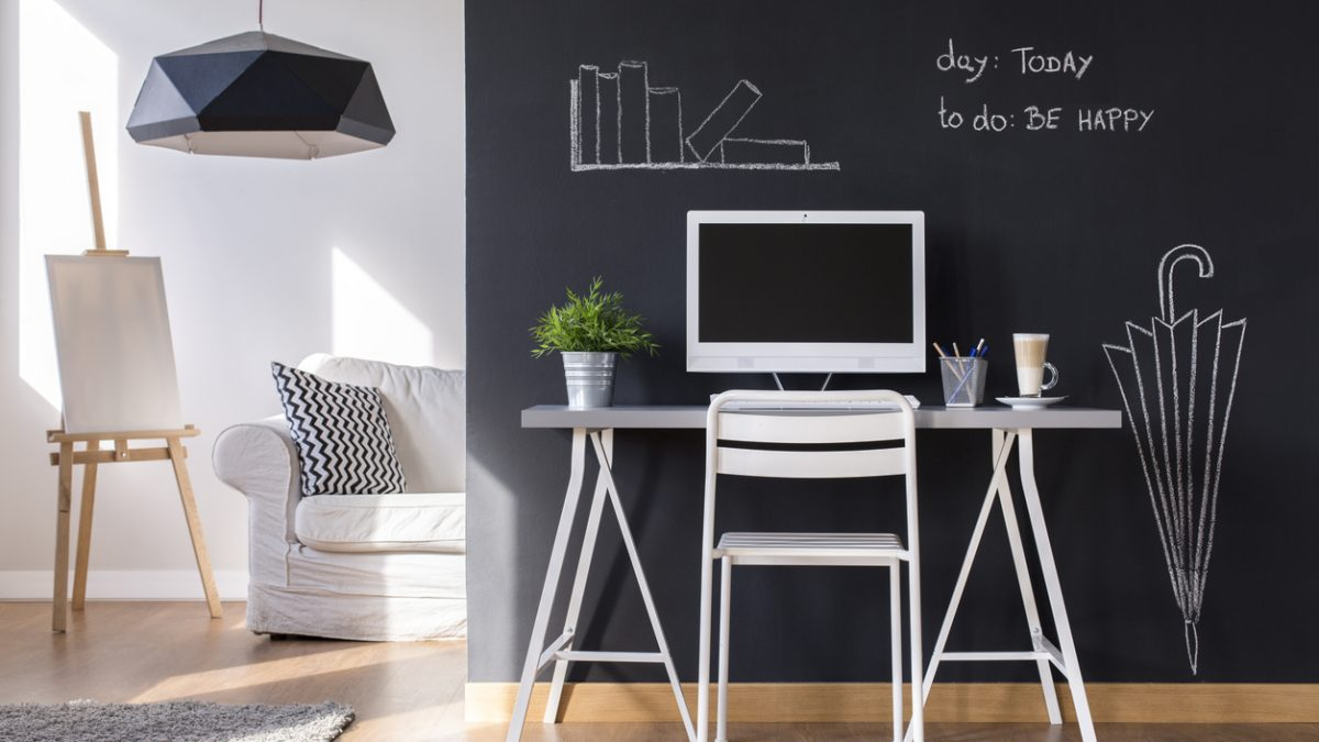 Chalkboard and Dry Erase Finish - Fridholm Painting